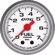 Manômetro Odg Drag Pressão De Combustivel Fuel 7 Bar 52 Mm