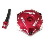 Tampa De Tanque Red Dragon Alumínio Para Honda Cr Crf Crfx