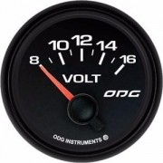Indicador Odg Dakar Fullcolor 52mm Voltimetro Voltímetro