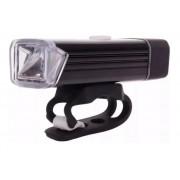 Lanterna Farol Dianteiro Recarregável Usb Bike Pedal 180 Lum