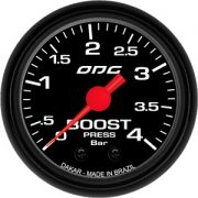 Manômetro Dakar Boost 4 BAR 52 mm