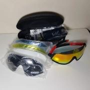 Óculos Ciclismo Mtb/speed 5 Lentes,1 Polarizada, Proteção Uv
