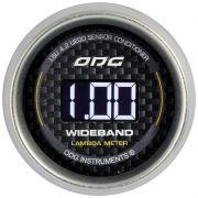 Wideband Carbon 2° Geração LSU4.2 52 mm
