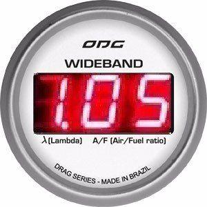 Wideband Odg Drag Lsu 4.2 52mm Display Led Vermelho