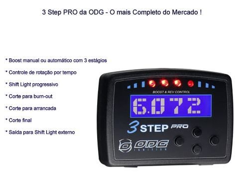 Corte De Giros 3 Step Pro Odg Limitador