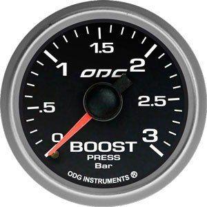 Manômetro Odg Evolution Boost 3 Bar Full Color 52mm