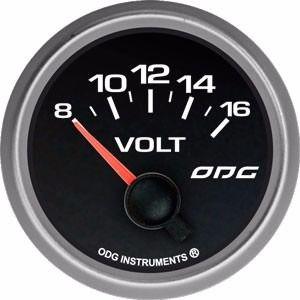 Indicador Odg Evolution Full Color Voltimetro 52 Mm