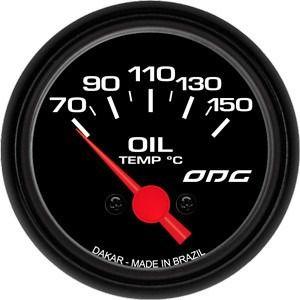 Indicador Odg Dakar Oil Temp 52mm Temperatura Do Óleo
