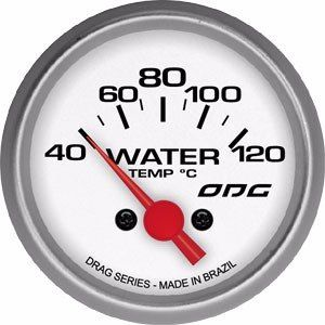 Indicador Odg Drag Temperatura Da Água Water Temp 52mm
