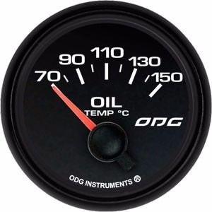 Temperatura Do Óleo Indicador Odg Dakar Full Color 52Mm Oil