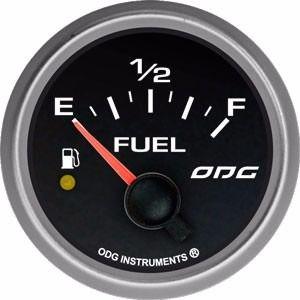 Indicador Odg Evolution Full Color Nível De Combustível 52mm