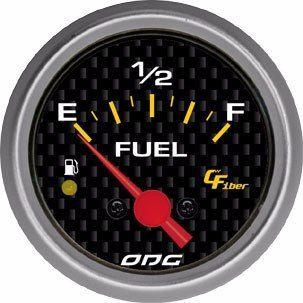 Indicador Odg Carbon Fuel Level Nível De Combustível 52Mm