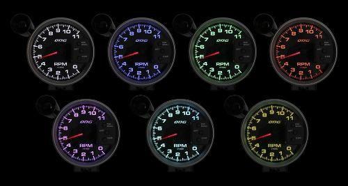 Contagiros Odg Dakar 11.000 Rpm (127mm) Full Color