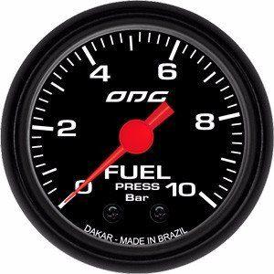trio Kit 3 Manômetros Odg Dakar Combustivel, Óleo E Turbo