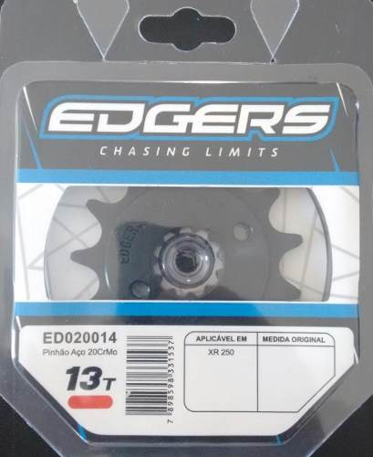Pinhão Para Motocross Honda Xr250 Tornado 13dentes Edgers