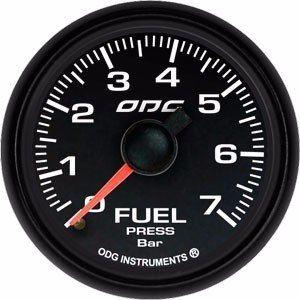 Manômetro Odg Pressão Combustivel 7 Bar Dakar Full Color 52mm