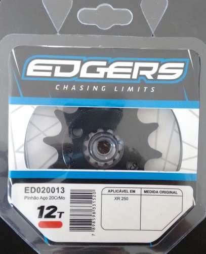 Pinhão Para Moto Honda Xr 250 Tornado 12 Dentes Edgers