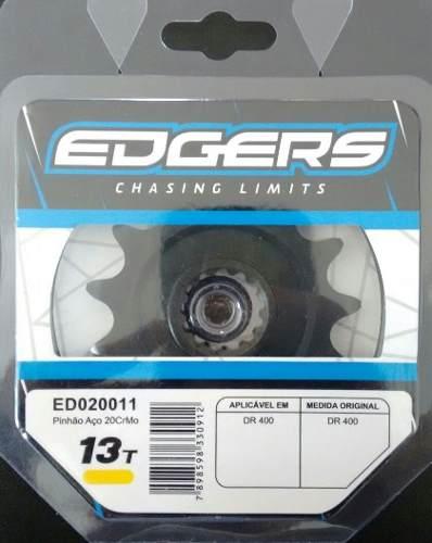 Pinhão Para Motocross Trilha Suzuki Dr 400 13dentes Edgers