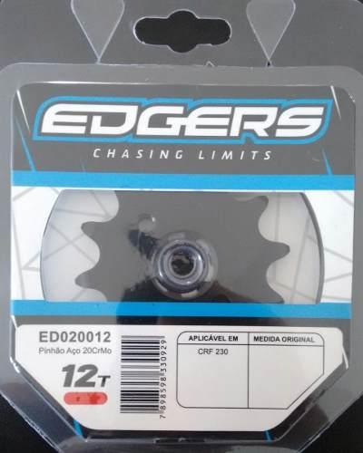 Pinhão Honda Crf230 07-14 Xr200 Nacionai 12 Dentes Edgers