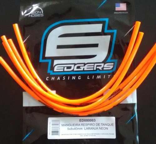 Mangueira Respiro Coloridas Laranja Ktm Edgers Racing 1 Unid