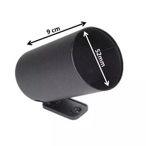 Copo Pvc 52mm Instrumento Manômetro Pressão Turbo Voltímetro