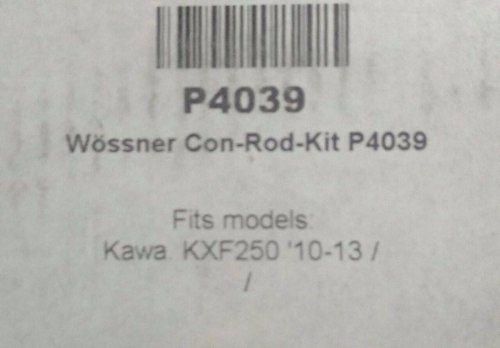 Biela Forjada Wossner Kawasaki Kxf250 2010-2016