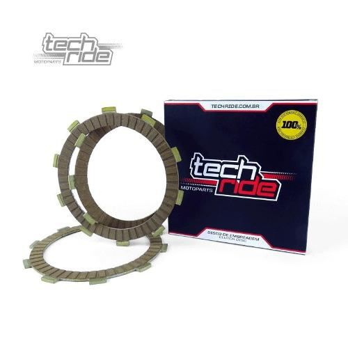 Kit Discos De Embreagem Alta Performance Para Honda Crf 230