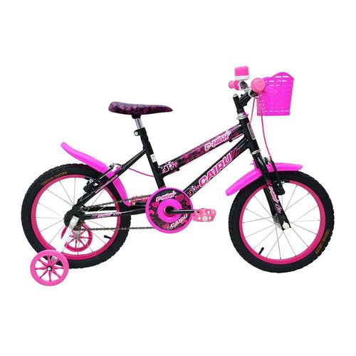 Bicicleta Cairu C-High pto/rosa