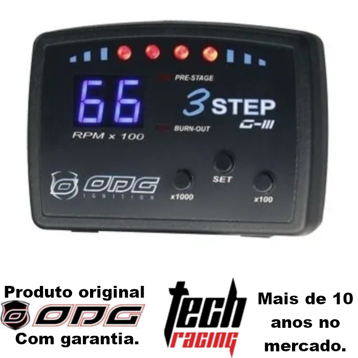Corte De Giros 3 Step G3 Odg Limitador Promoção