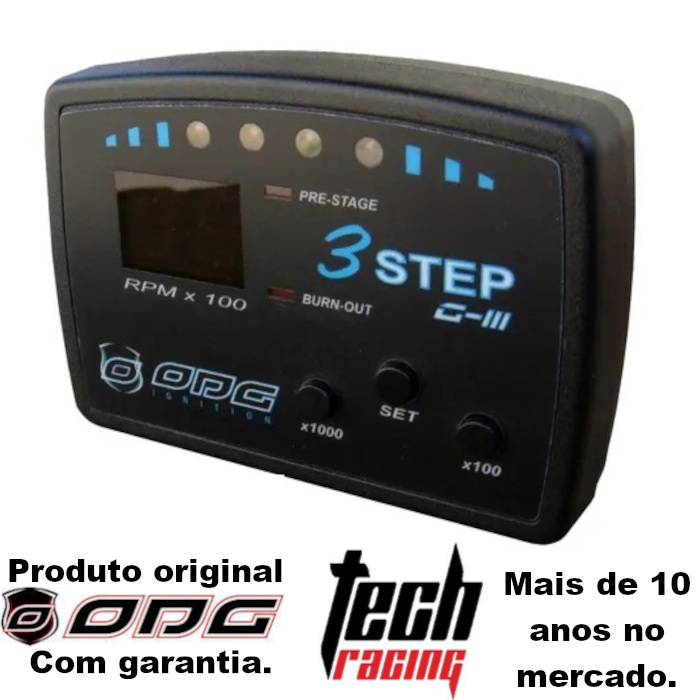 Corte De Giros 3 Step G3 Odg Tech Racing+Brinde