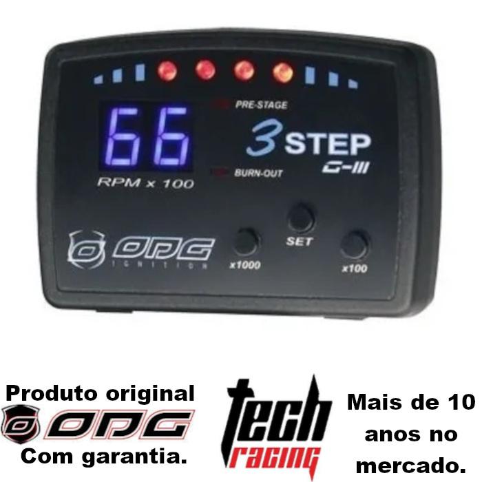 Corte De Giros 3 Step Odg Com Shift Light (limitador) G3