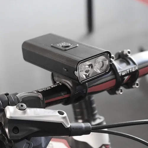 Farol Bike Lanterna Led Bicicleta 2x T6 + Sinaleira + Pisca