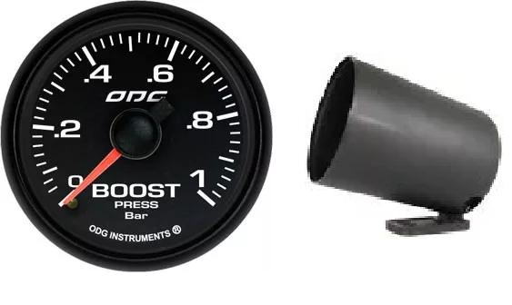 Kit Manômetro Dakar Full Color Boost 1 + Brinde Copo
