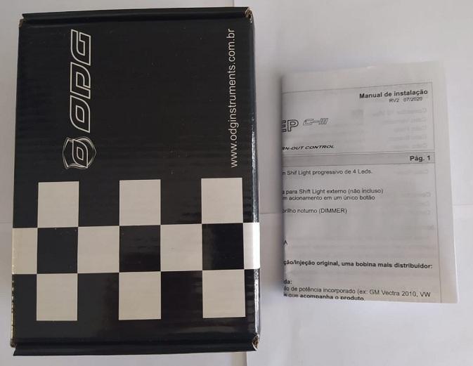 Limitador de Giro 3 Step G3 Odg (Corte De Giros) Promoção + Nota Fiscal