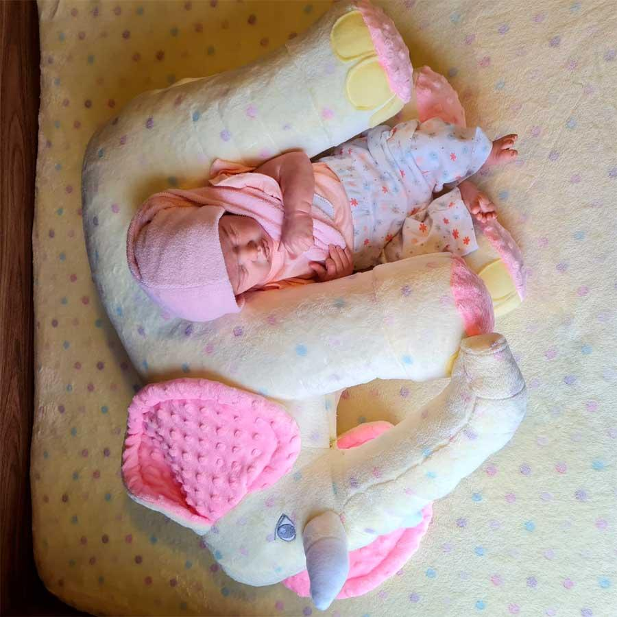 ALMOFADA BABY ELEFANTE EWER