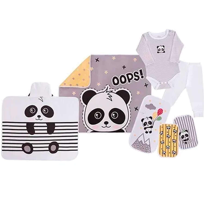 BABY KIT MALHA SOLZINHO PANDA COLIBRI REF:48253