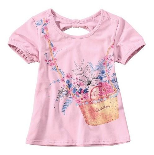 BLUSA INFANTIL CARINHOSO REF:1000043140 4/8