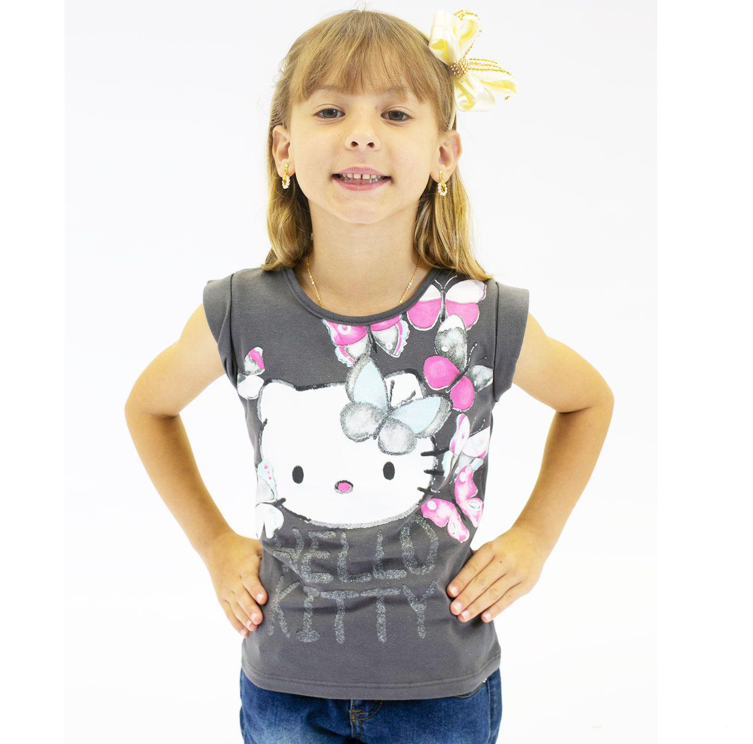 BLUSA INFANTIL HELLO KITTY REF:87652 4/8