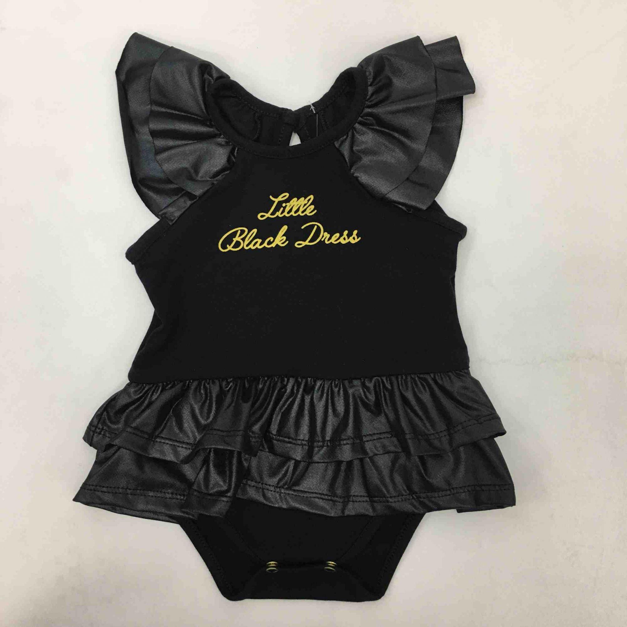 BODY MANGA CURTA BLACK DRESS COM FAIXA VESTE ROSA REF:18700 P/G