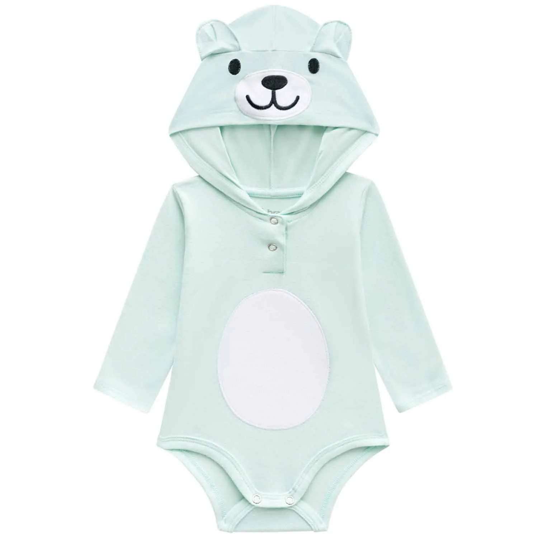 BODY URSINHO BRANDILI MANGA LONGA BABY REF:53539 P/G