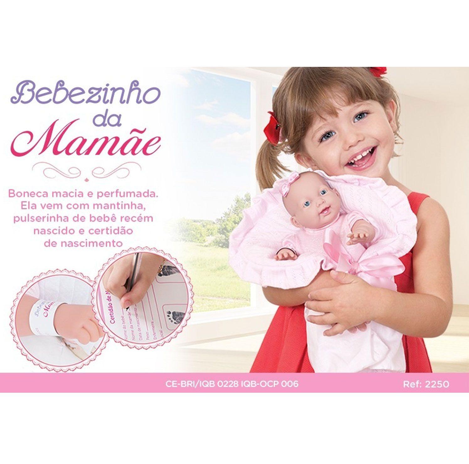BONECA BEBEZINHO DA MAMÃE PEQUENA COTIPLAS REF:2250