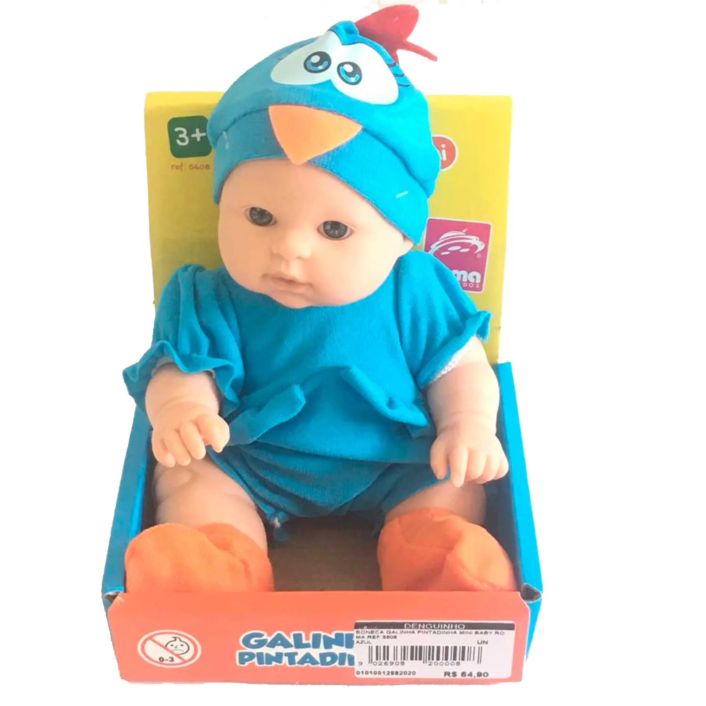 BONECA GALINHA PINTADINHA MINI BABY ROMA REF:5608