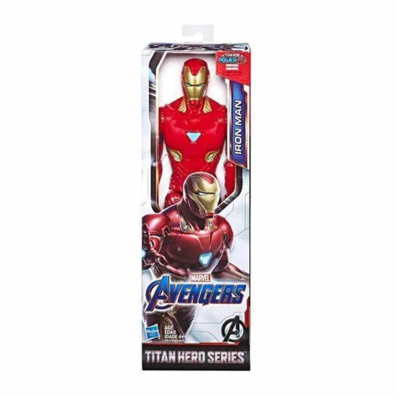BONECO HOMEM DE FERRO AVENGERS TITAN HERO POWER 2.0 HASBRO REF:E3918