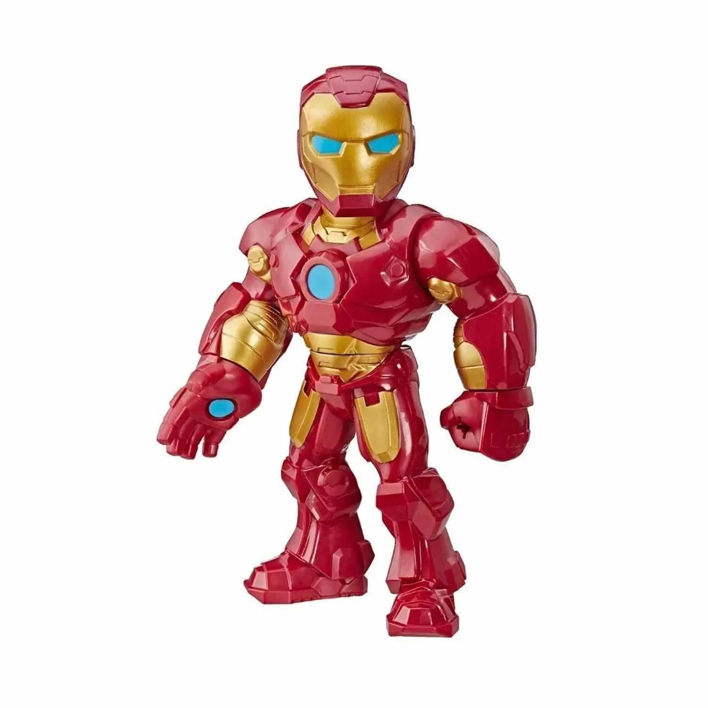 BONECO IRON MAN SUPER HERO ADVENTURES MARVEL AVENGERS HASBRO REF:4132