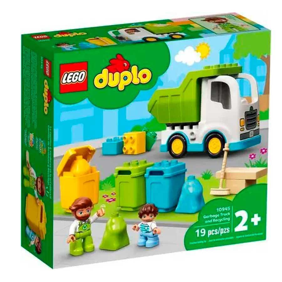 CAMINHÃO DO LIXO E RECICLAGEM LEGO REF:10945