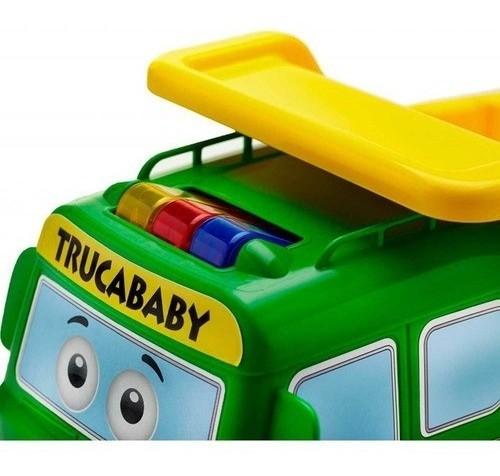 CAMINHÃO TRUCA BABY COM SOM TATETI REF:410 18 M+
