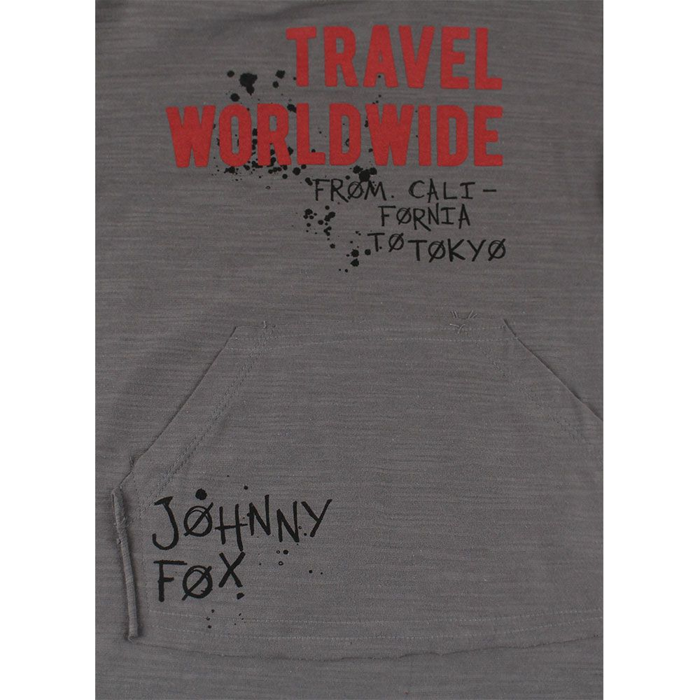 CAMISETA MANGA LONGA MALHA ESTAMPADO JOHNNY FOX REF:38442 10/16