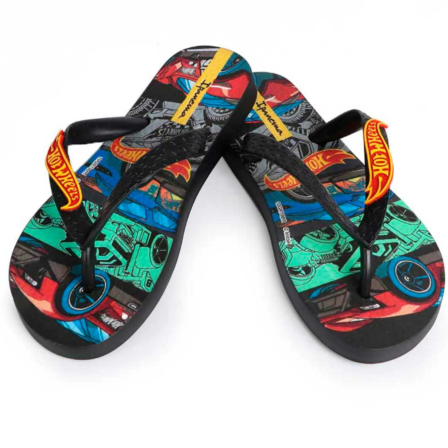 CHINELO INFANTIL HOT WHEELS TYRE GRENDENE REF:28009 23/33