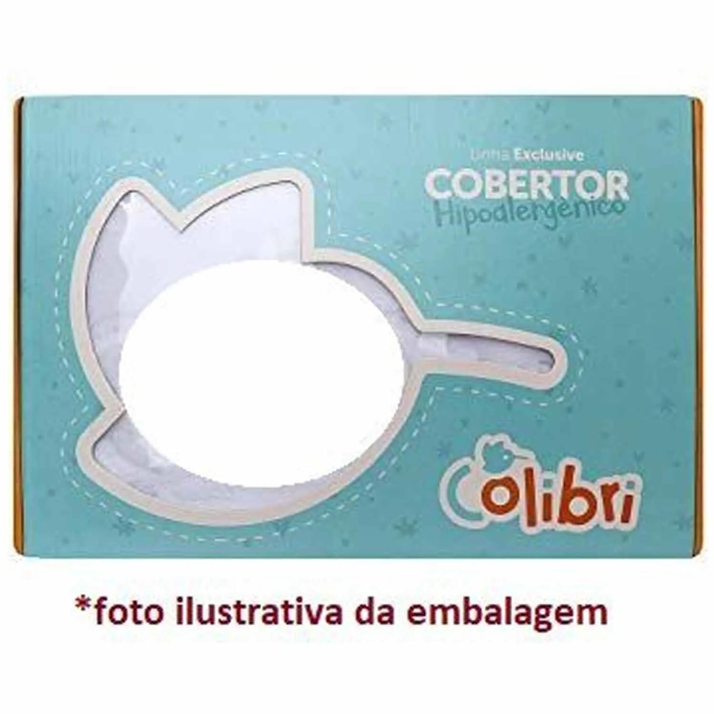COBERTOR DE BEBÊ PREMIUM COLIBRI COELHO REF:47660
