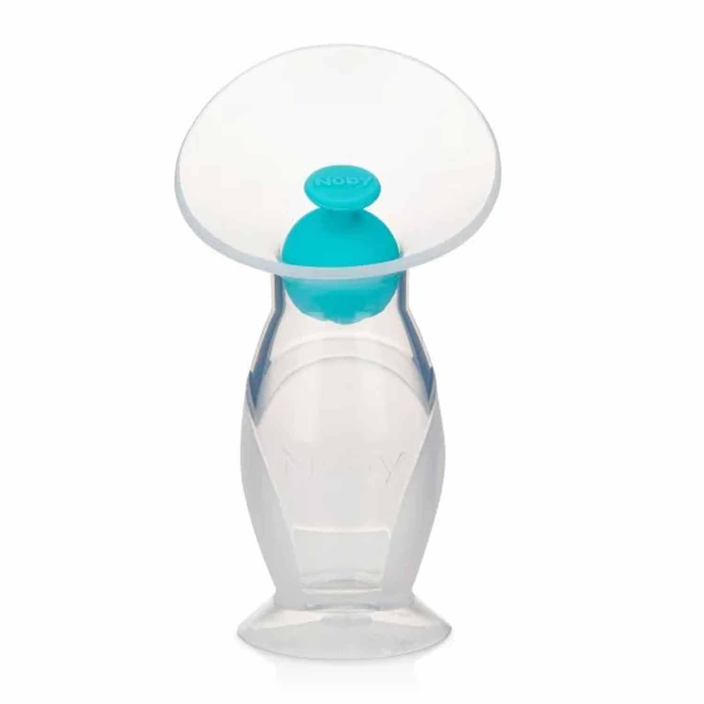 COLETOR DE LEITE MATERNO EM SILICONE LIVRE DE BPA NUBY REF:67790 120 ML